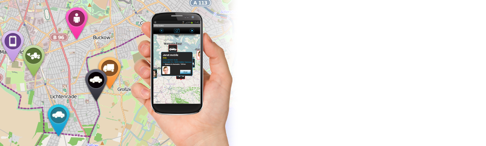inViu routes for on-the-go asset tracking and monitoring on your mobile phone